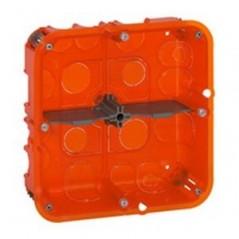 Boitier Encastre MULTIMATERIAUX BATIBOX 2x2 postes prof 50mm 080124 LEGRAND