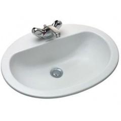 Vasque a Encastrer 56x43 blanc E1291-00 jacob delafon