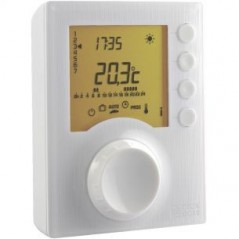 Thermostat Programmable 1 Zone Hebdomadaire /Journalier a Piles TYBOX 117 REF 6053005 DELTA DORE