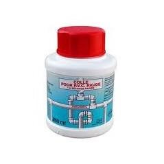 Colle PVC pot de 1/4 litre avec pinceau