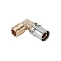 Coudes à sertir M 16x1/2 Fluxo réf FLC1615M NICOLL x10