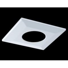 Collerette Spot encastre LED H2 PRO carré blanche COLLINGWOOD