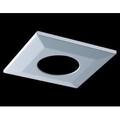 Collerette Spot encastre LED H2 PRO carré aluminium COLLINGWOOD