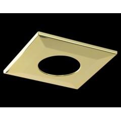 Collerette Spot encastre LED H2 PRO carré doré COLLINGWOOD