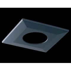 Collerette Spot encastre LED H2 PRO carré noire COLLINGWOOD