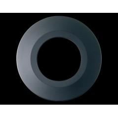 Collerette Spot encastre LED H2 PRO ronde couleur noire COLLINGWOOD