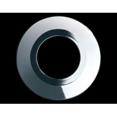 Collerette Spot encastre LED H2 PRO ronde couleur chrome COLLINGWOOD