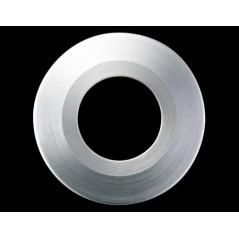 Collerette Spot encastre LED H2 PRO ronde couleur acier brosse COLLINGWOOD