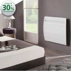 Radiateur chaleur douce NIRVANA DIGITAL 750w horizontal blanc REF 507407 ATLANTIC