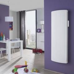 Radiateur chaleur douce NIRVANA DIGITAL 1000w vertical blanc REF 507510 ATLANTIC