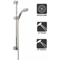 Kit Barre de Douche Lisa 2 Jets Chrome REF 342152 NICOLL
