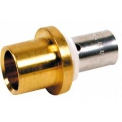 Adaptateur PER a sertir pour tube cuivre 20x25-22 REF RAC2522 PBTUB