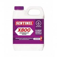 Traitement desembouant X400 SENTINEL nettoyant dispersant multimateriaux REF X400 SENTINEL