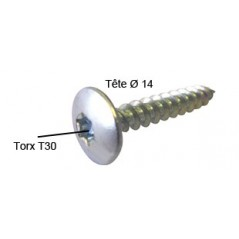 Vis Penture 6x100 AC/ZI REF A080285 ING FIXATION par 200 pieces