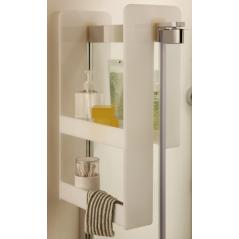 Etagère en plexiglas pour pare-bain et parois fixes blanc REF E6D070-00 JACOB DELAFON