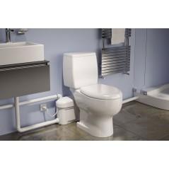 Broyeur WC gain de place REF W15SP_A87G_16 WATERMATIC