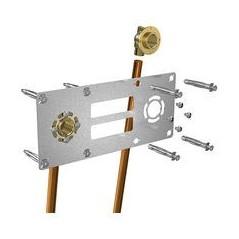 Robifix a souder entraxe 150mm pour raccord cuivre diamtre 14 REF 009121 GRIPP