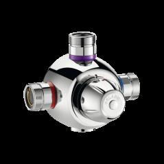 Mitigeur Thermostatique Premix Confort 55 a 190l/min REF 731003 DELABIE