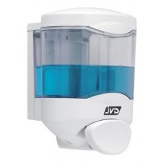 Distributeur de Savon Liquide 450ml Crystal avec Poussoir ref 844098 JVD