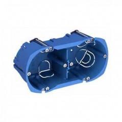 Boitier Encastre Placo Double Profondeur 50mm Entraxe 71 ALB71335 SCHNEIDER