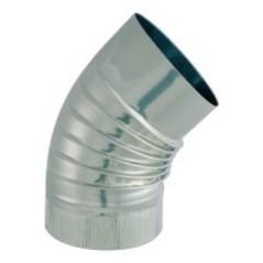 Coude Inox I304 D125 45 Degre ISOTIP REF 032412