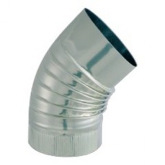 Coude Inox I304 D139 45 Degre ISOTIP REF 032413