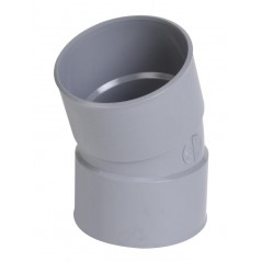 Coude simple 20° PVC FF D100 REF CT22 NICOLL