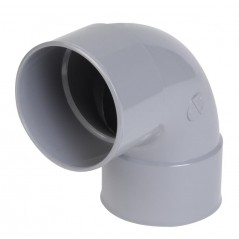 Coude simple 90° PVC FF D63 REF CL88 NICOLL