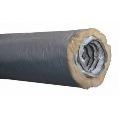 Gaine VMC Isolée D125 ecosoft PVC LG 6ml REF 542944 NATHER