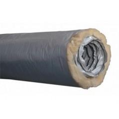 Gaine VMC Isolée D150 ecosoft PVC LG 6ml REF 550134 NATHER