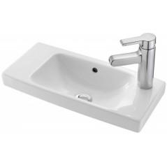 Lave mains Odeon up compact 50x22 percé a droite REF E4701R-00 blanc JACOB DELAFON