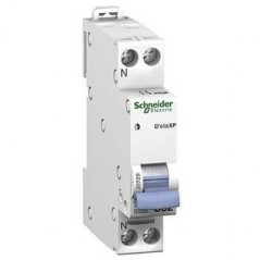 Disjoncteur Declic 1P+N 20A REF 20727 SCHNEIDER