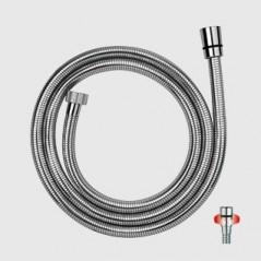 FLEXIBLE PVC LISSE STARFLEX ANTITORSION 1,50M 1/2F 1/2F Chrome Réf ST150A PAINI
