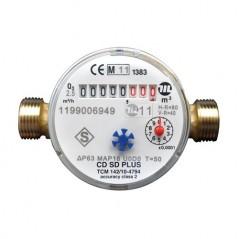 Compteur divisionnaire eau chaude MM 26/34 REF 1450-04 SOMATHERM