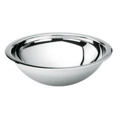 Vasque inox 304 a encastrer D28CM sans trop plein et sans bonde REF MS43 ONDYNA