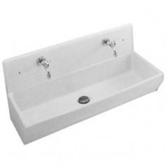 Dosseret pour lavabo DUO 2 100x37 Blanc REF EN281-00 JACOB DELAFON