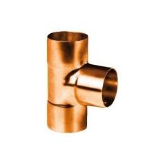 Té cuivre à souder egal FFF D12 513012 THERMADOR