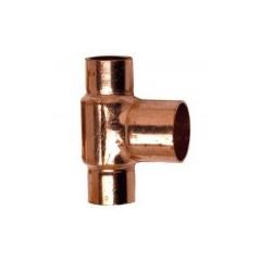 Té cuivre à souder réduit FFF D22-14-22 REF 5130221422 THERMADOR