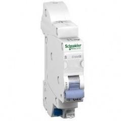 Disjoncteur Duoline XE Embrochable 1P+N 2A REF 16724 SCHNEIDER NF