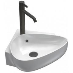 Lave mains d'angle NOUVELLE VAGUE 46x46cm Blanc REF EGL112-00 JACOB DELAFON