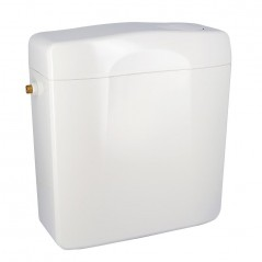 Reservoir WC Attenant 3/6 Litres Silencieux REF 0704020 NICOLL