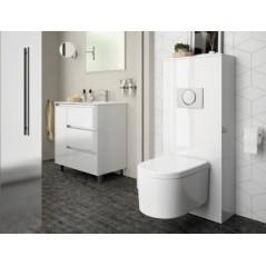 Habillage WC UNIT pour WC suspendu couleur blanc brillant réf 25365 SALGAR