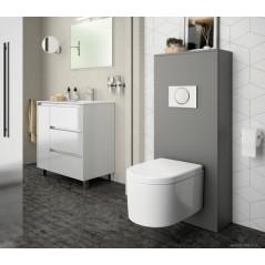 Habillage WC UNIT pour WC suspendu couleur Gris mat réf 25366 SALGAR