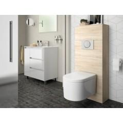 Habillage WC UNIT pour WC suspendu couleur Chêne Calédonie réf 25368 SALGAR