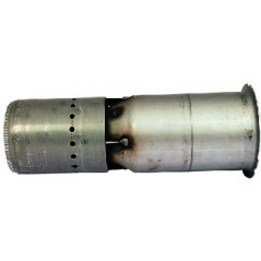 TUBE DE FLAMME INOX LG.272 Rèf 300015790 DE DIETRICH