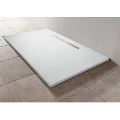 Receveur SURFACE en néoquartz extra plat 180x80x3cm Blanc réf E62635-SS2 JACOB DELAFON