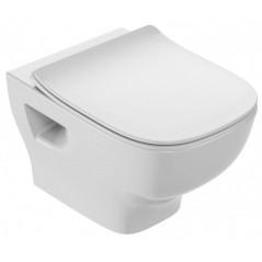 Cuvette wc suspendue compacte sans bride STRUKTURA 48X34CM EDF101-00 JACOB DELAFON