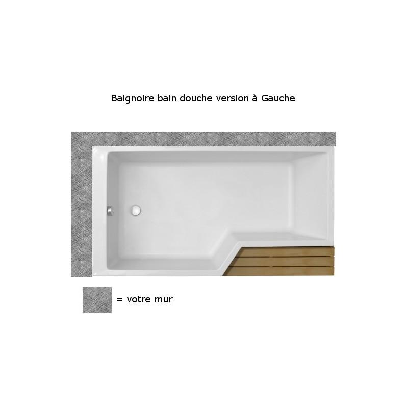 Baignoire Bain Douche Neo Jacob Delafon