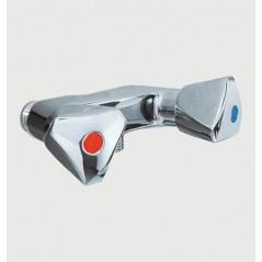 Melangeur Douche M 1/2 Tete a Clapet Entraxe 80mm REF 70652 PRESTO