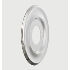 Rosace Plate Chrome D28 REF 70327 PRESTO SACHET DE 2 PIECES